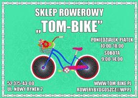 Logo firmy - Sklep Rowerowy Tom Bike