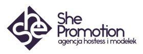 Logo firmy - SHE PROMOTION Agencja Hostess i Modelek