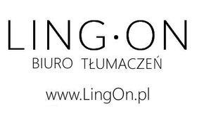Logo firmy - Biuro Tłumaczeń LingOn