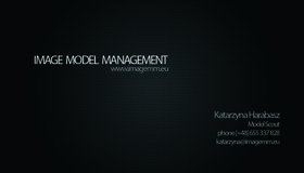Logo firmy - Image Model Management