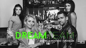 Logo firmy - Joanna Jur Piątek Dream Team Agencja hostess i modelek